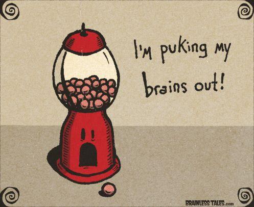 Ημερήσια Κόμικς Brainless Tales