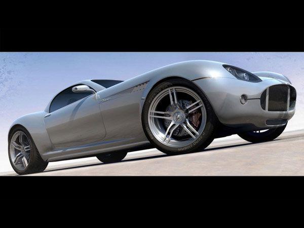 Κόνσεπτ νέο AC Cobra Venom V8