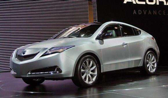 Νέα Acura ZDX