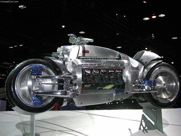 Νέα Dodge Tomahawk Μηχανή