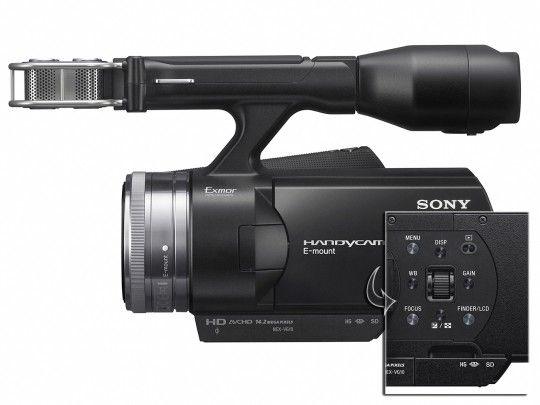 Νέα Sony NEX-VG10E