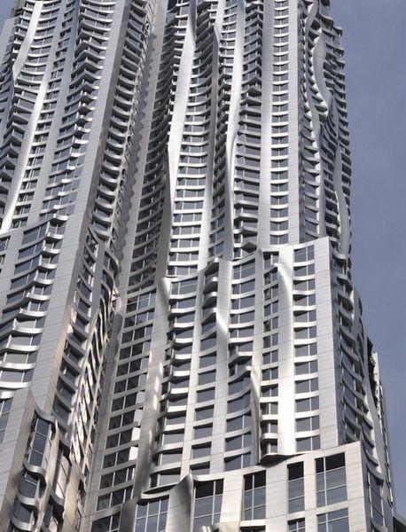 Ουρανοξύστης στη Νέα Υόρκη από τον Frank Gehry