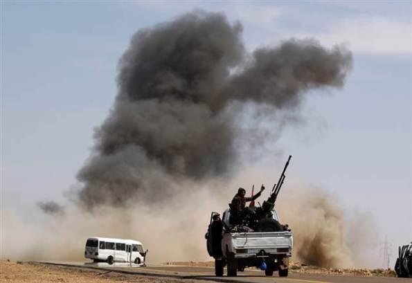 Πόλεμος στη Λιβυή