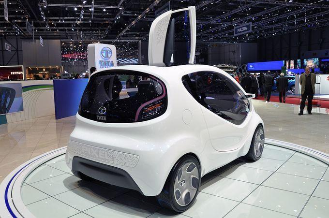 Σαλόνι Αυτοκινήτου Γενεύης 2011 - Tata Pixel