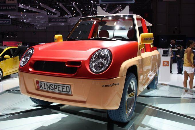 Σαλόνι Αυτοκινήτου Γενεύης 2011 - Rinspeed BamBoo