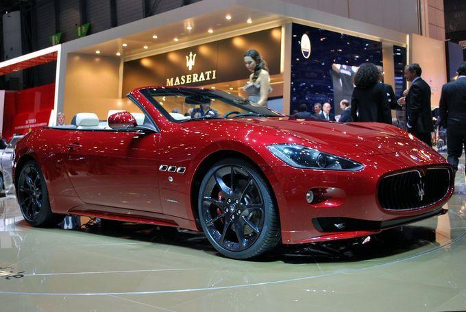 Σαλόνι Αυτοκινήτου Γενεύης 2011- Maserati GranCabrio Sport