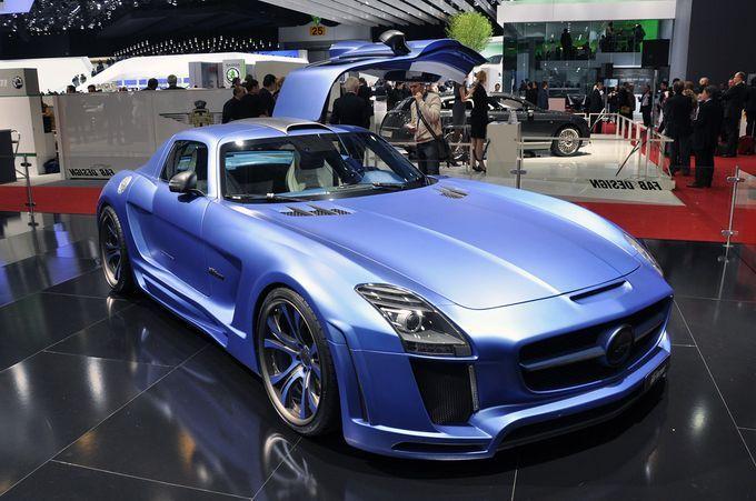 Σαλόνι Αυτοκινήτου Γενεύης 2011 - Fab Design SLS AMG