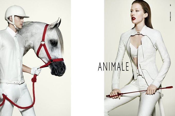 Advertising Campaign Animale Autumn 2011