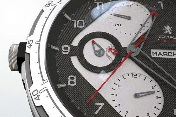 ARNAGE ρολόι concept από whomadeid