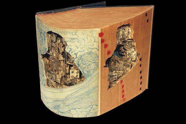 Brian Dettmer Book Art
