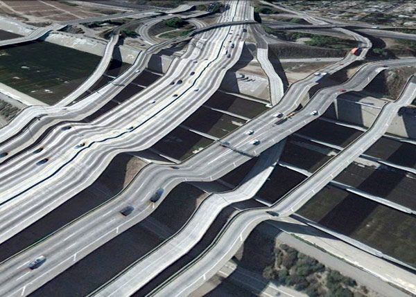 Bridges from Google Earth