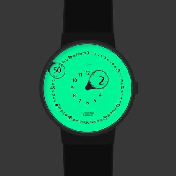 Clever Zoomin Watch Concept
