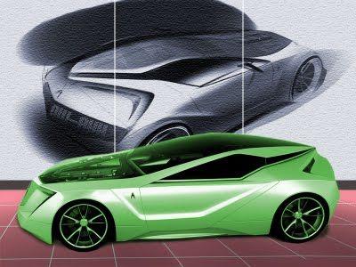 Concept new Acura 2+1