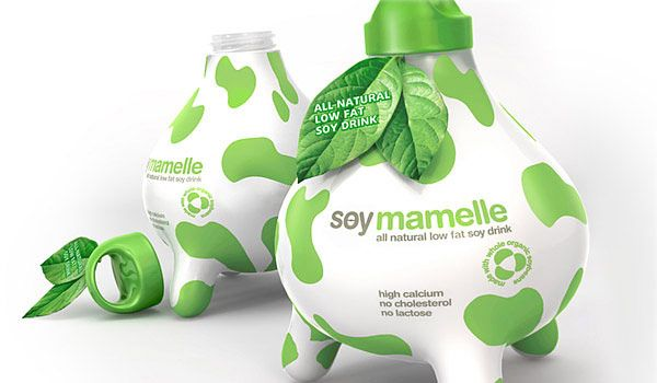Creative Package for Soy Milk
