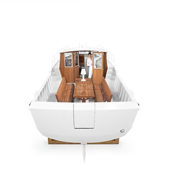 Elegant Boat Firmship 42 by Studio Job