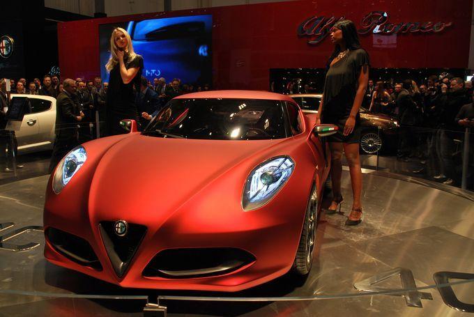 Geneva Motor Show 2011 - Alfa Romeo 4C