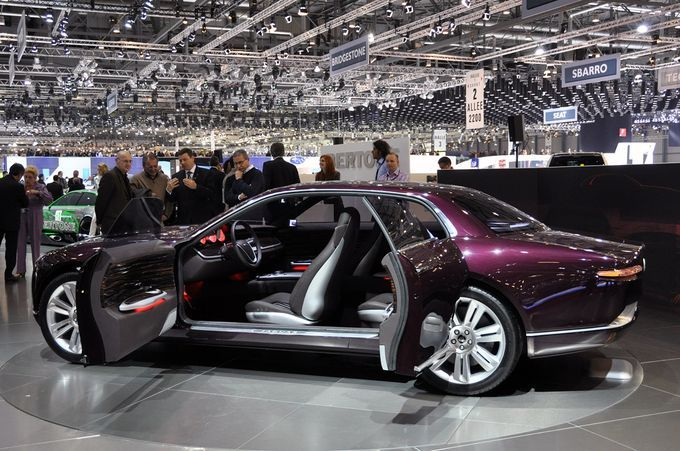 Geneva Motor Show 2011- Bertone Jaguar B99