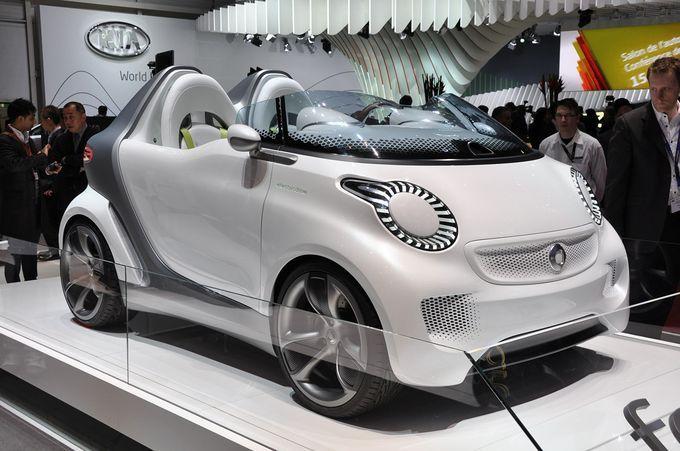 Geneva Motor Show 2011- Smart ForSpeed
