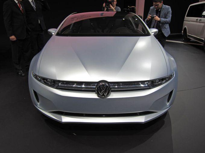 Geneva Motor Show 2011 - Volkswagen Giugiaro Tex