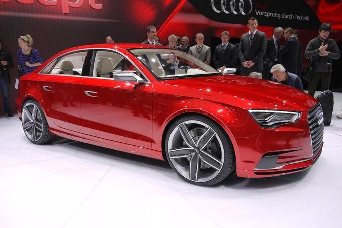 Geneva Motor Show 2011 - Audi A3 Sedan