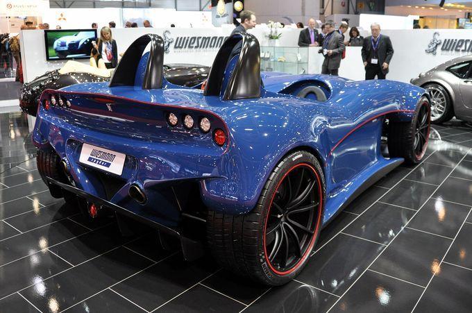 Geneva Motor Show 2011 - Wiesmann Spyder