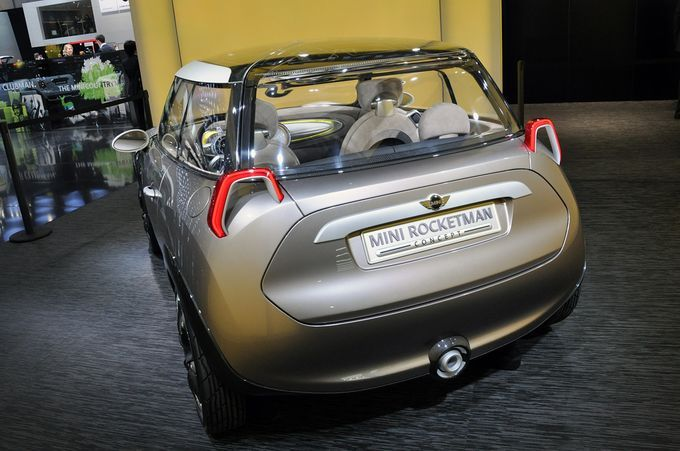 Geneva Motor Show 2011 - Mini Rocketman
