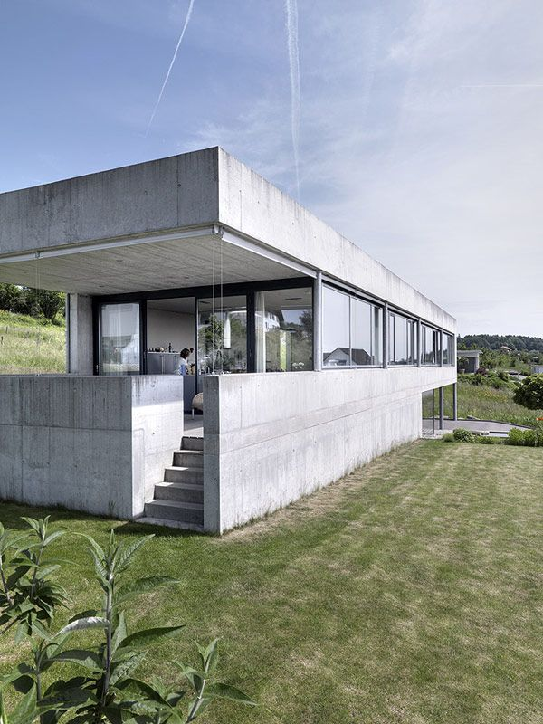 House Szelpal in Switzerland