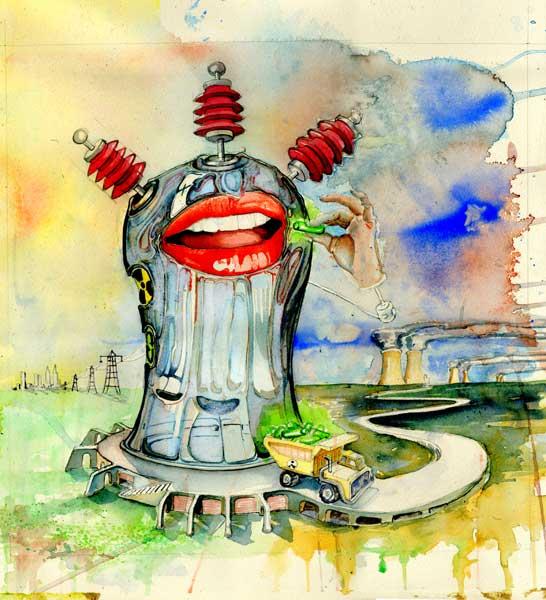 Illustrator Mackie Daniel