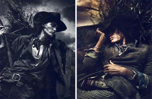 Isabeli Fontana in the Parisian Vogue