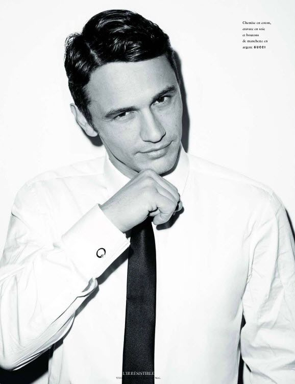 James Franco στο Vogue Hommes International