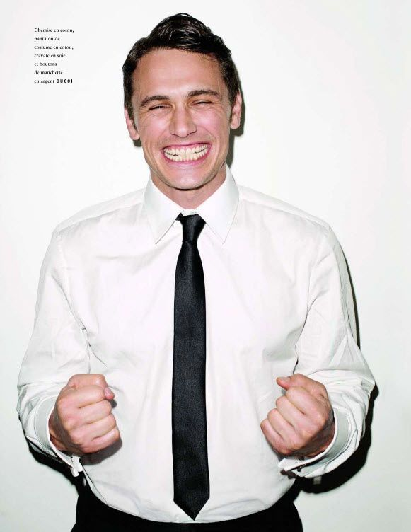 James Franco in Vogue Hommes International