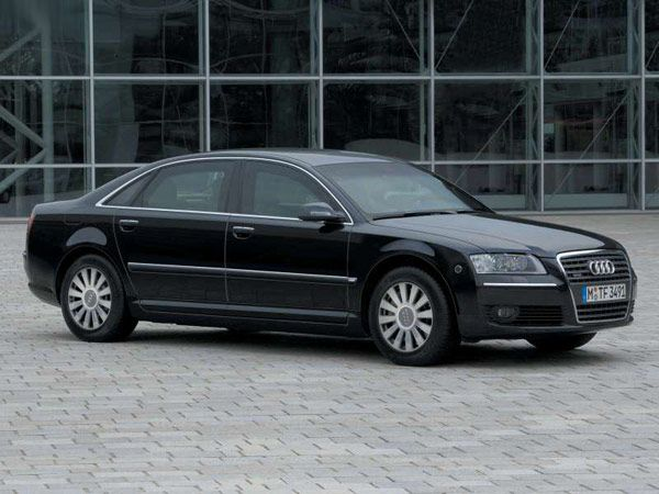 New Audi A8L Security