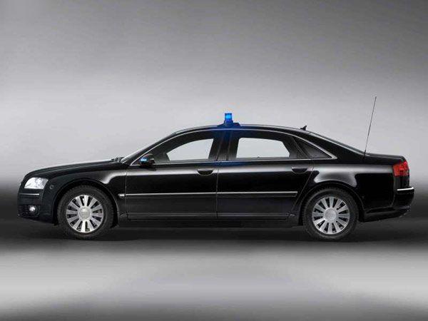 New Audi A8L Security