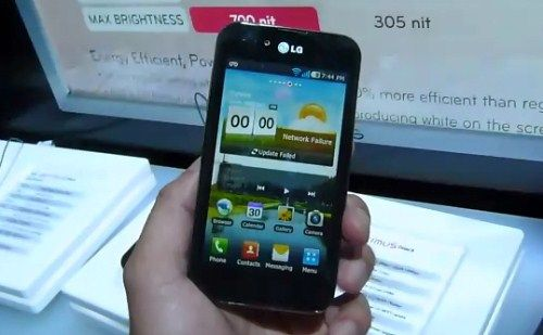 New LG Optimus Black 2011