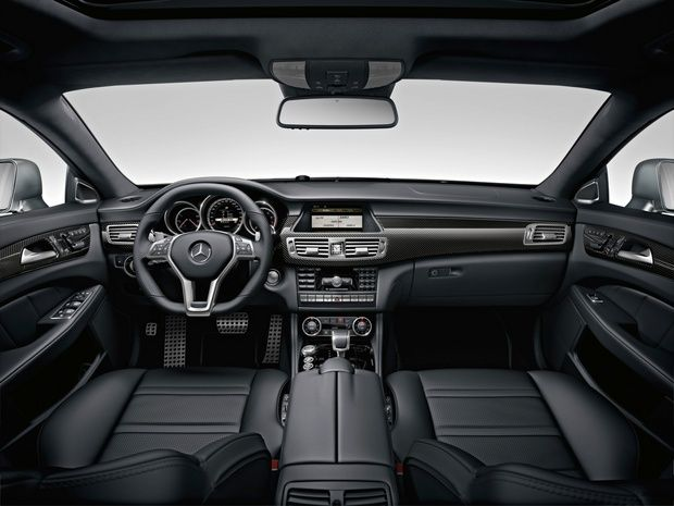 New Mercedes-Benz CLS 63 AMG - Σαλόνι Αυτοκινήτου