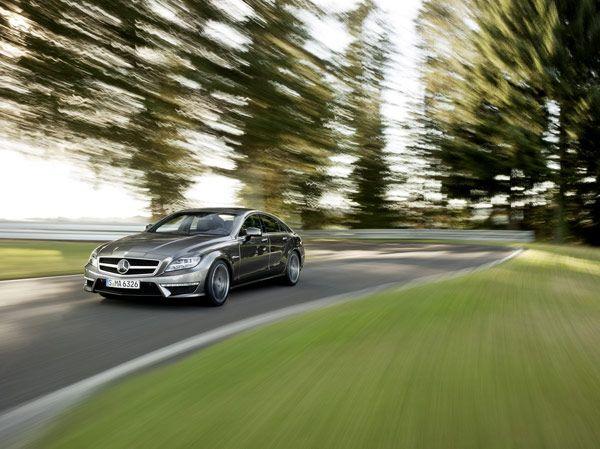 New Mercedes-Benz CLS 63 AMG