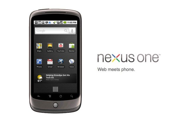 New Nexus One from Google