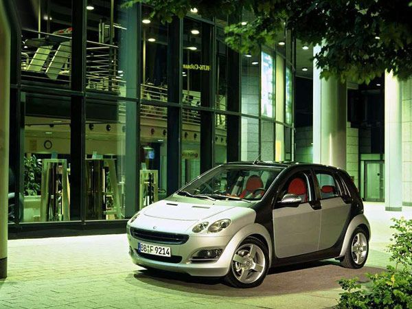 New SMART Forfour