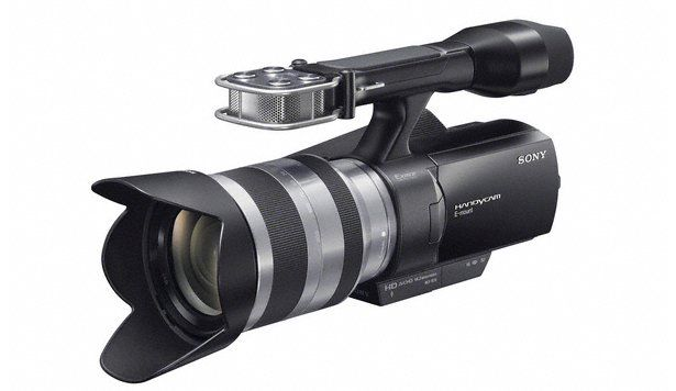 New Sony NEX-VG10E
