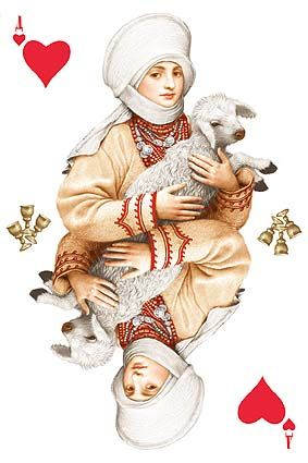 Playing cards Vladislav Erko