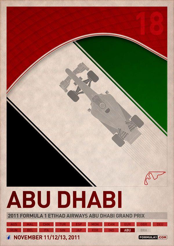Αφίσες της Φόρμουλα 1 για το 2011