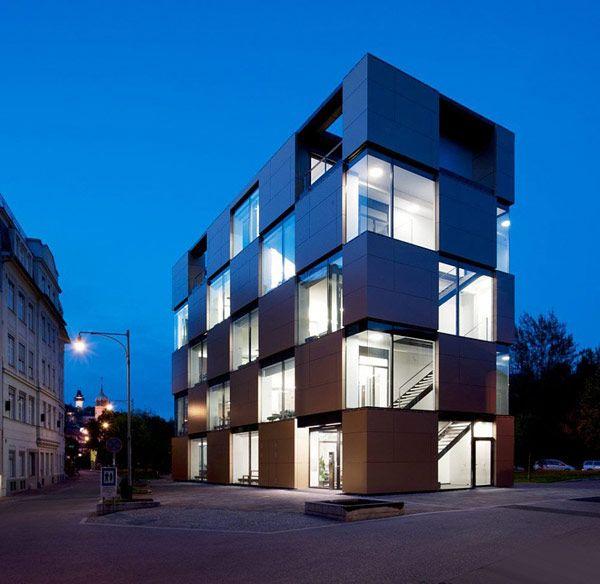 Δημιουργικό Nikolaiplatz Κτίριο από το Ατελιέ Thomas Pucher και Alfred Bramberger