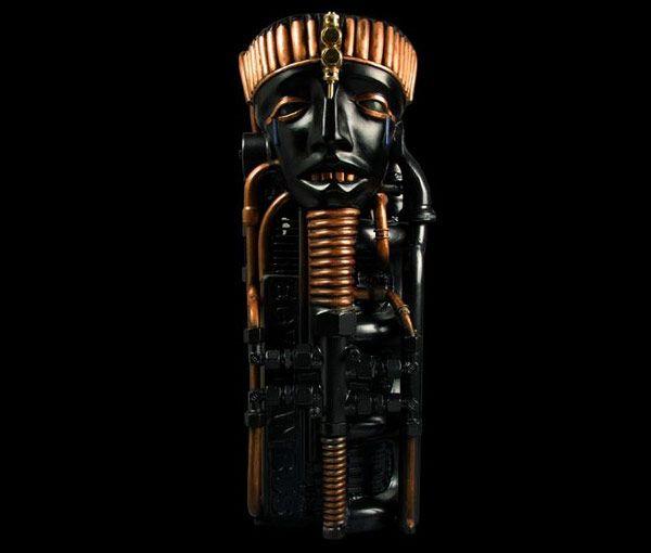 Εντυπωσιακά γλυπτά Steampunk από τον Pierre Matter