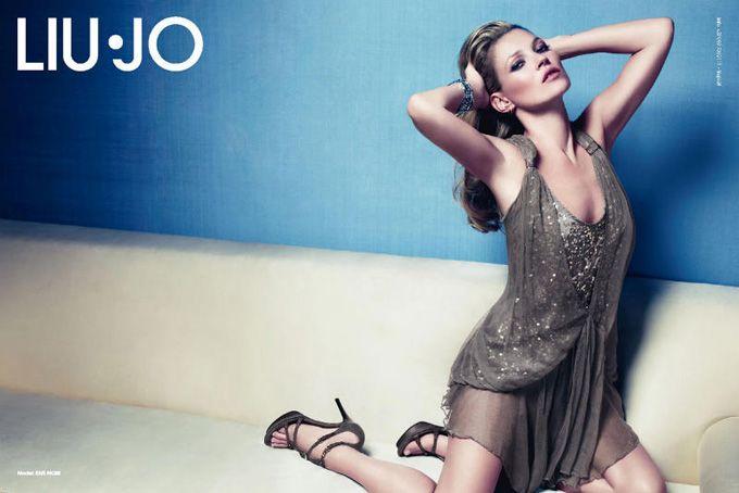 Η Κέιτ Μός σε διαφημιστικές εκστρατείες - Liu Jo