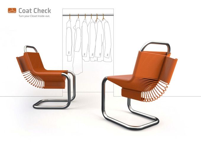 Καρέκλα-κρεμάστρα από τον Joey Zeledon