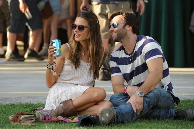 Μουσικό Φεστιβάλ Coachella στη Καλιφόρνια - Alessandra Ambrosio και Jamie Mazur