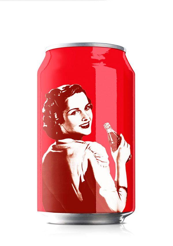 Συσκευασίες επετείου της Coca-Cola από την Bulletproof