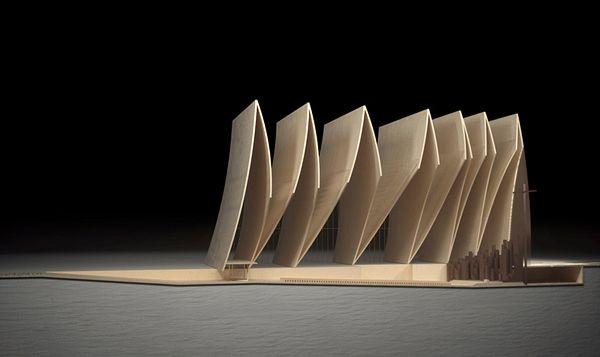 Σύγχρονος - Cathedral Fold από Axis Mundi