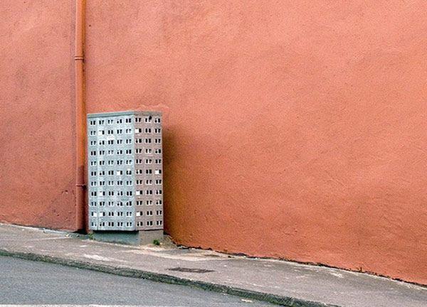 Τέχνη δρόμου από ουρανοξύστες του EVOL