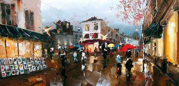Τέχνη ζωγραφικής από τον Kal Gajoum